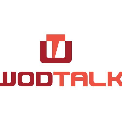 Create the next logo for WOD Talk