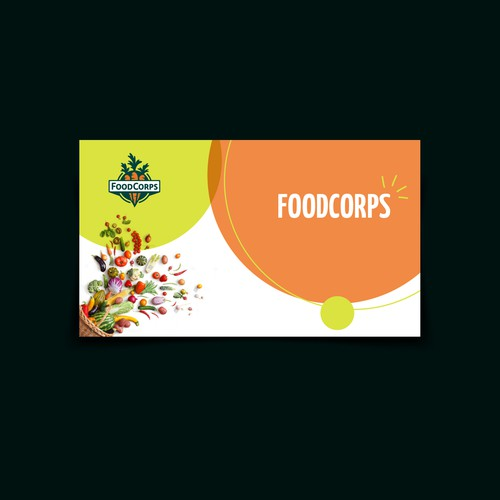 Powerpoint Presentation design for Non-profit organization call FoodCorps