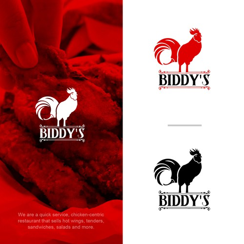 Growing chicken wing restaurant needs a clever new logo