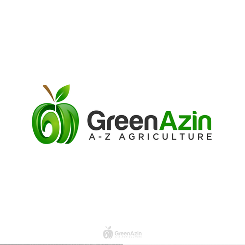 Green Azin Logo