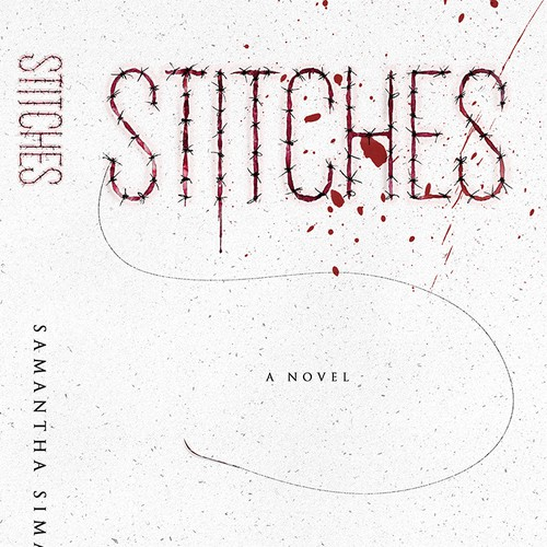 Gritty mystery book cover