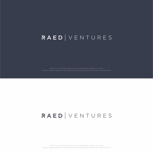 Logo for Raed Ventures from A Uni Arab Emirates