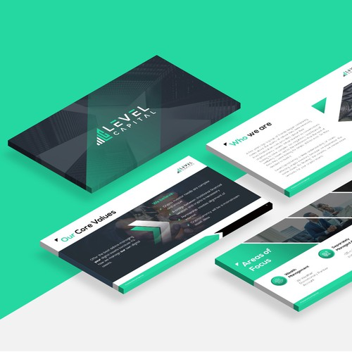 Design Pitch Deck for Cutting Edge Crypto Finance Company