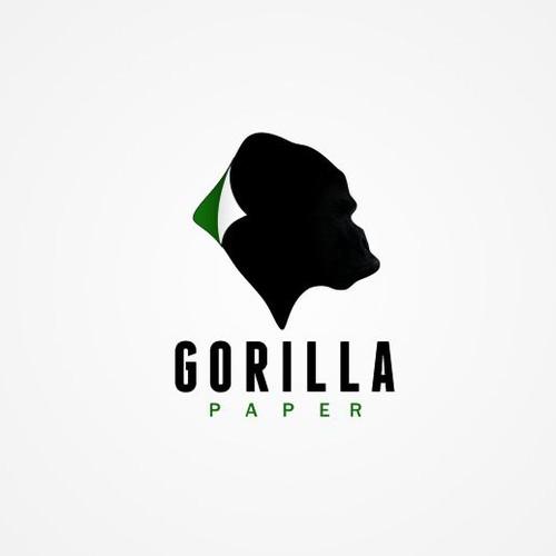 Clear gorilla paper concept