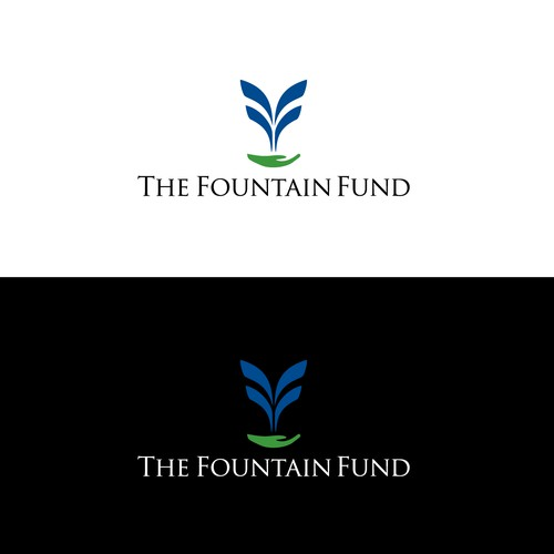 sophisticated logo for Fountain Fund