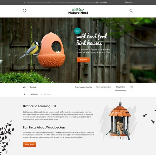 Website for Wild Nature