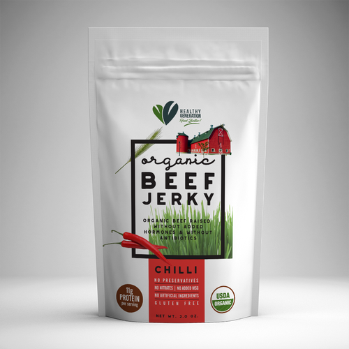 Healthy Generation Beef Jerky