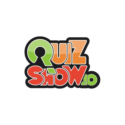 Create fun logo for quizshow.io - the game show maker