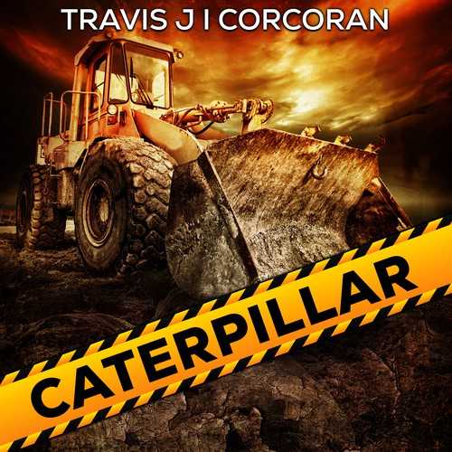 Book cover desogn - Caterpillar by author Travis J I Corcoran