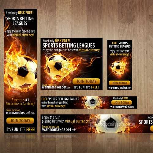 Create the next banner ad for Wannamakeabet.com
