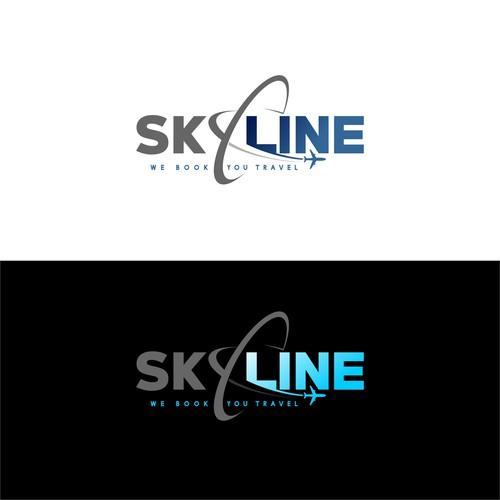 SkyLine travel logo