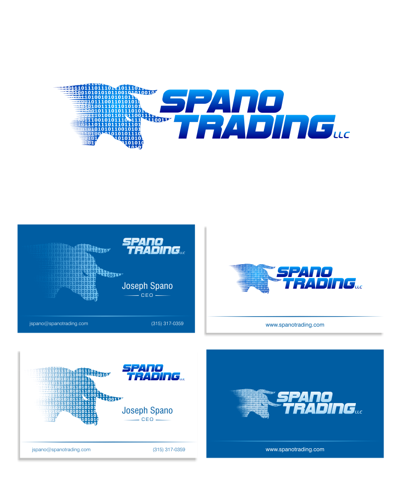 Create the next logo for Spano Trading LLC