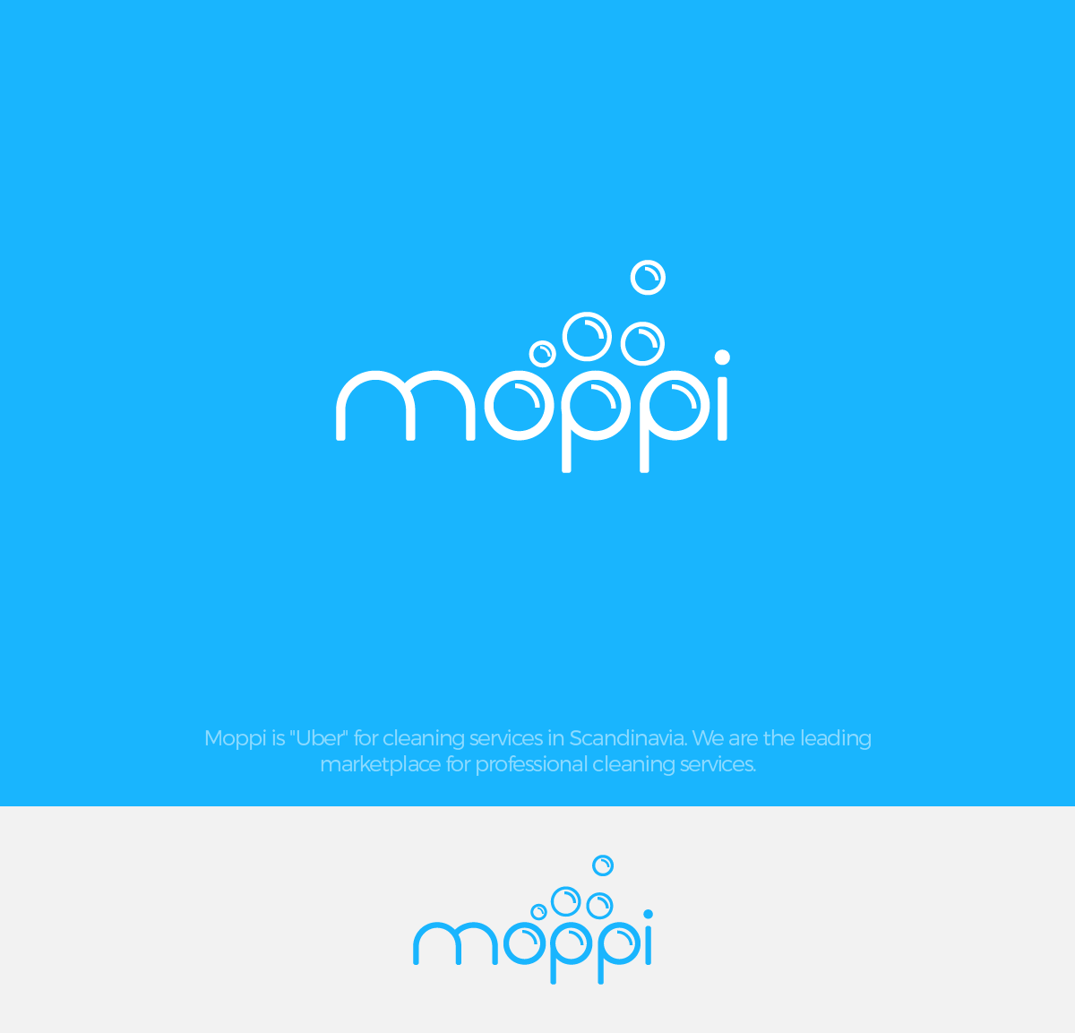 """Create a fun and attractive logo for """"Moppi"""" cleaning marketplace."""
