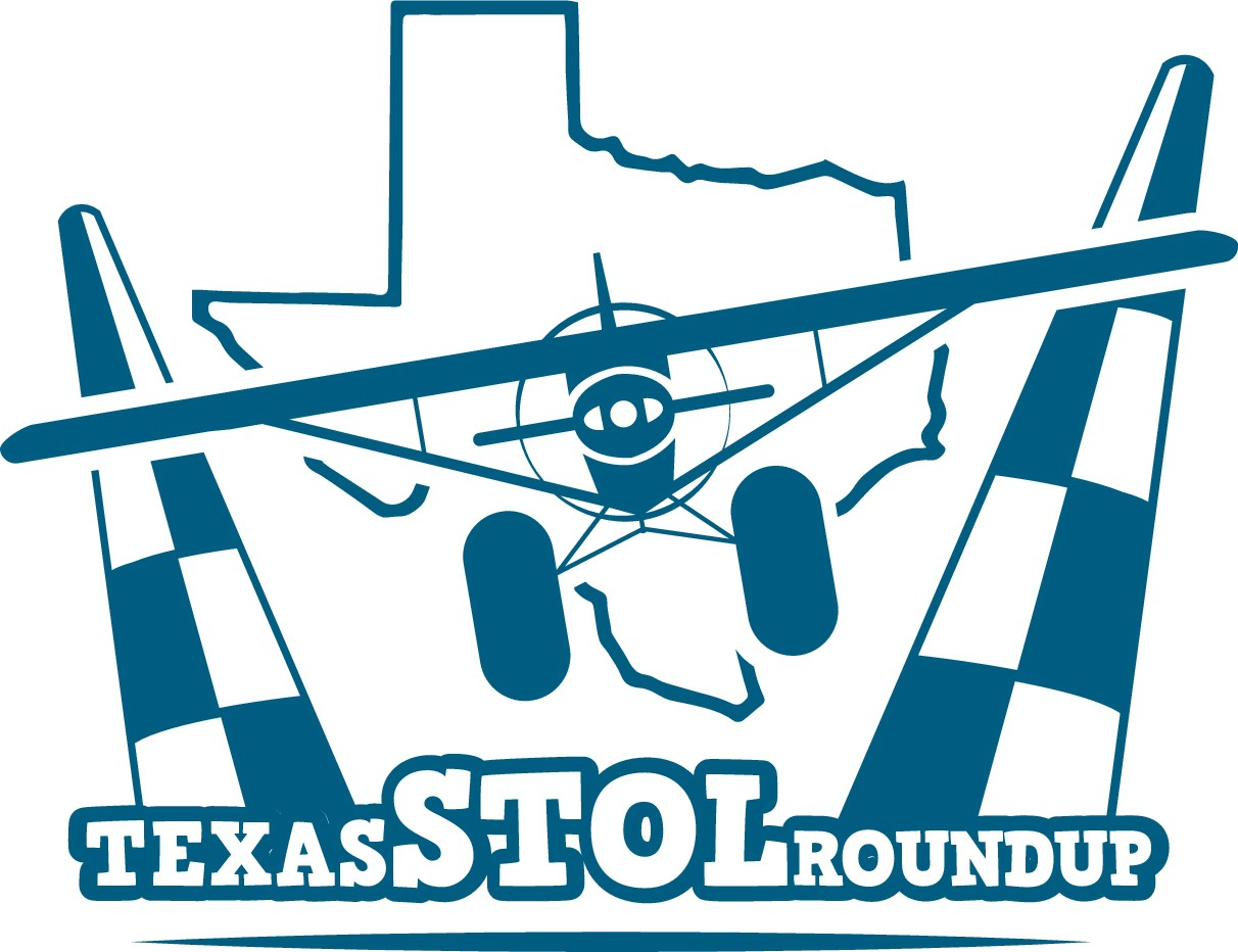 Texas STOL Roundup Logo for hat embroidery