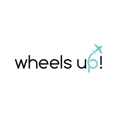 Playful logo for travel experts website