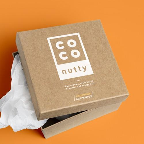 Minimalistic logo for coconutty