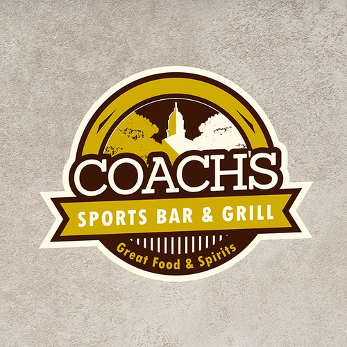 Sport Bar and Grill Logo