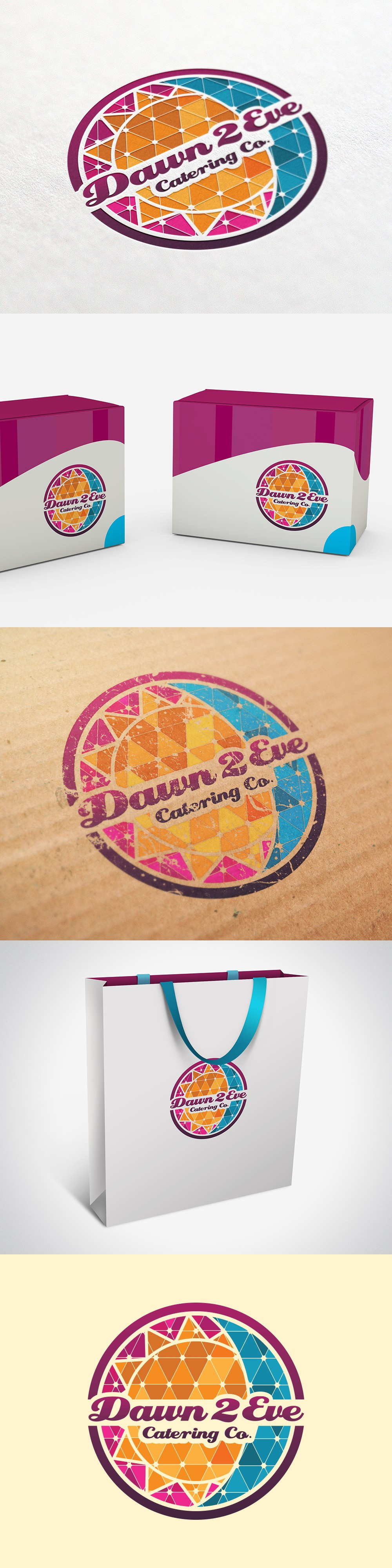 Create a game changing logo for Dawn 2 Eve Catering Company. Put your mark on a winning team!!!