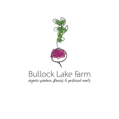 Organic & Modern Logo Design for Family Farm