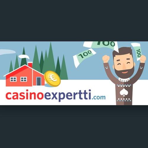 Banner ad design for Online Casino