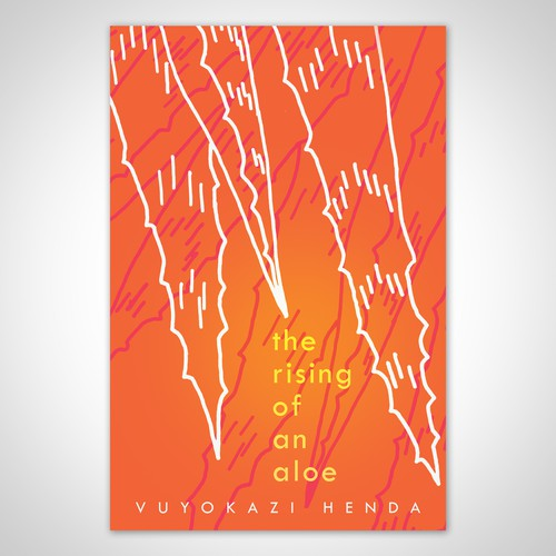 Book Cover Design for a Modern Poetry Collection