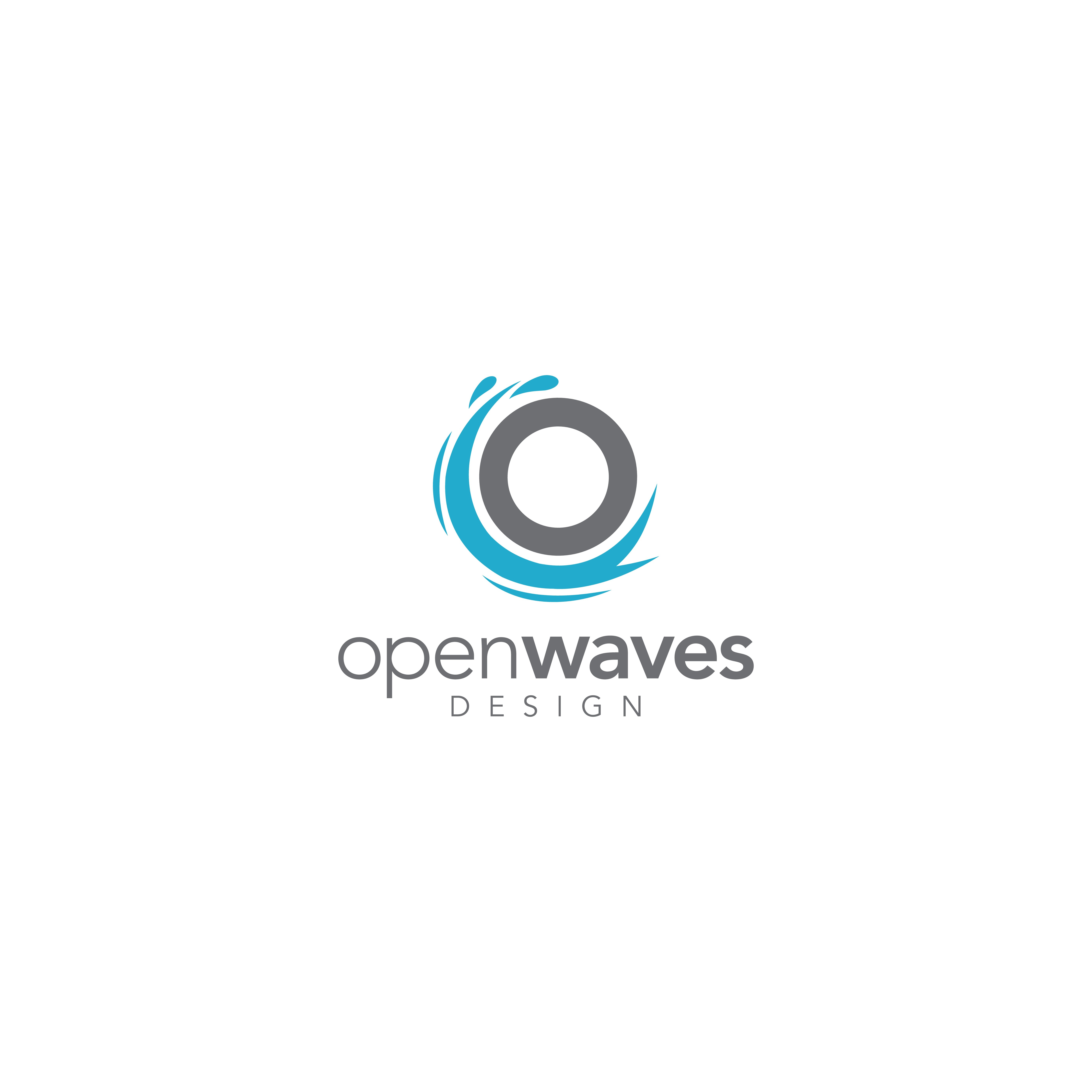 Create a logo for Open Waves Design