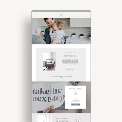Shaney Cook Brand/Website Design