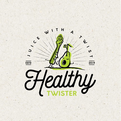 Fun logo for Juice company