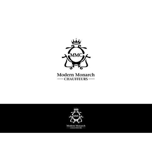 Create the next logo for Modern Monarch Chauffeurs