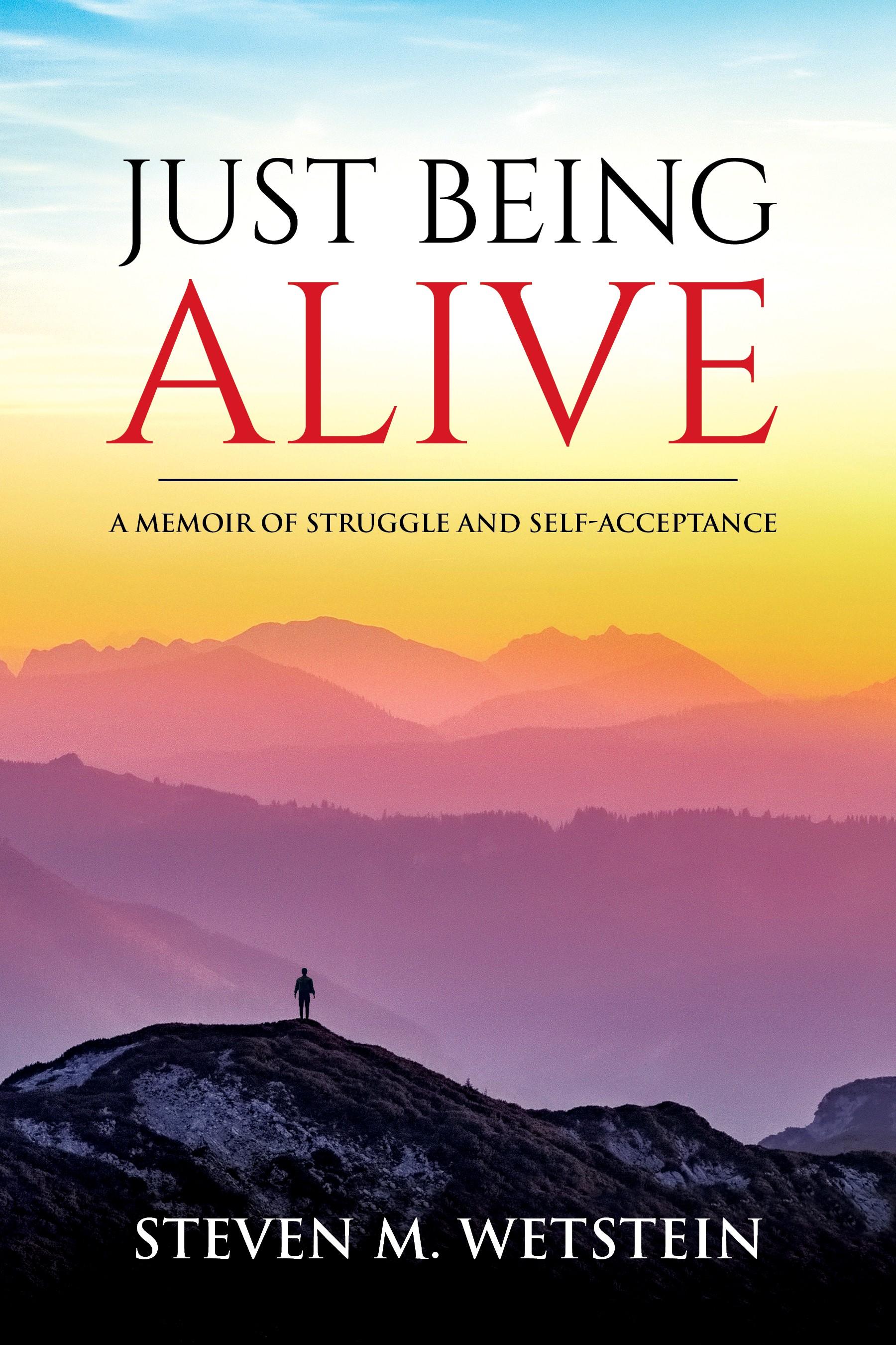 Steven M. Wetstein: Ebook cover design for memoir