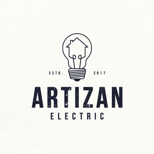 Logo design for electric decoration company