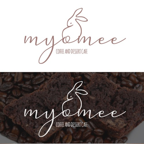 Logo for Myomee - Coffee and Dessert Cafe