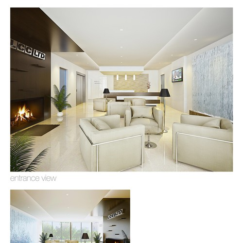 LCC Ltd company hall render