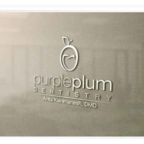 Create the most imaginative and one of a kind logo for Purple Plum Dentistry!