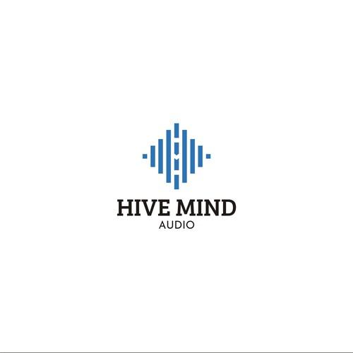 Logo concept for music studio