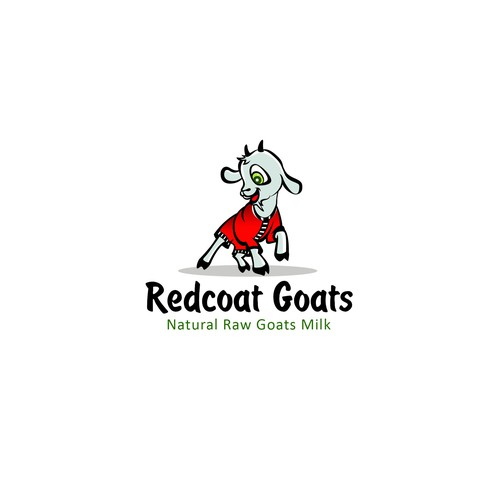Redcoat Goats Logo