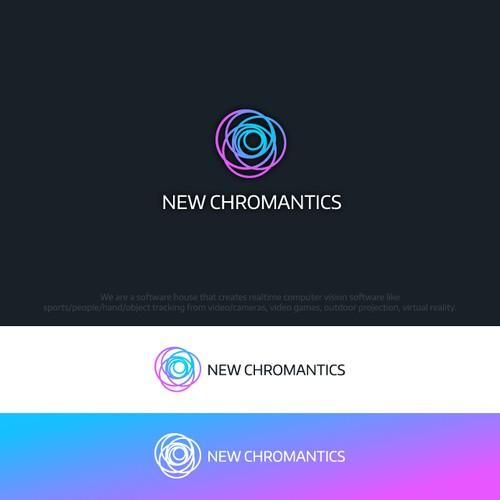 Colorful Logo for The New Chromantics
