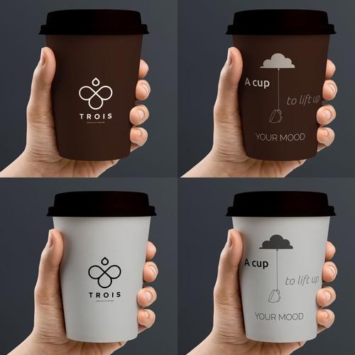 Creative Takeaway Coffee Cup Design
