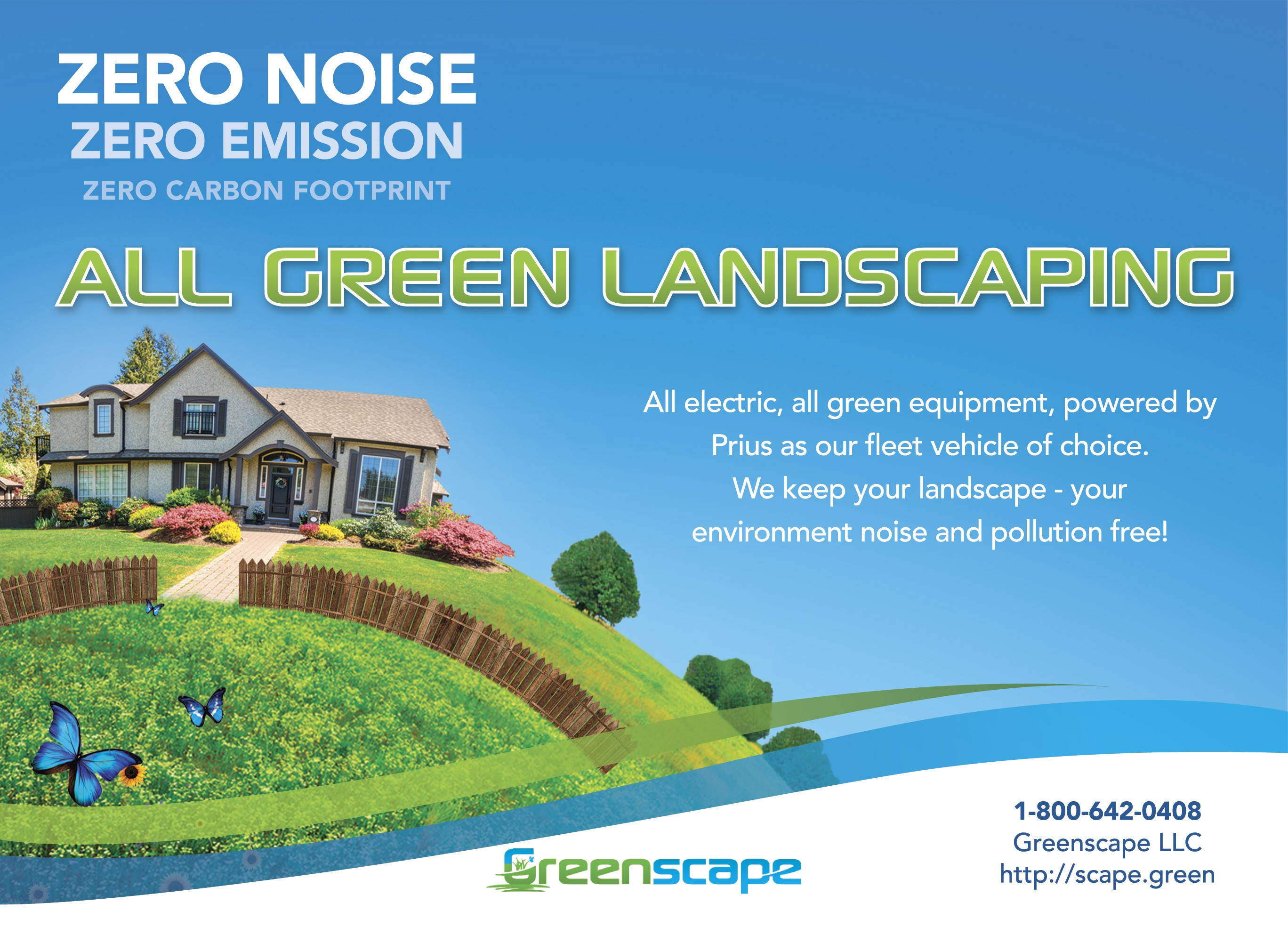 All Green Landscaping - Greenscape needs an attention grabbing flyer