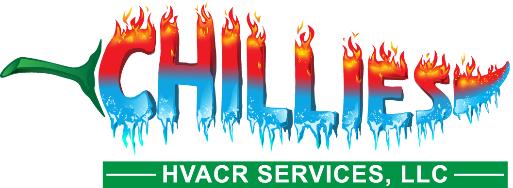 Create an eye catching CHILLIES HVACR logo, my idea is described and illustrated