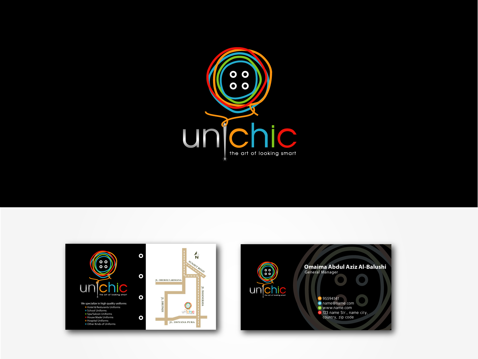 Create the next logo for Uni Chic