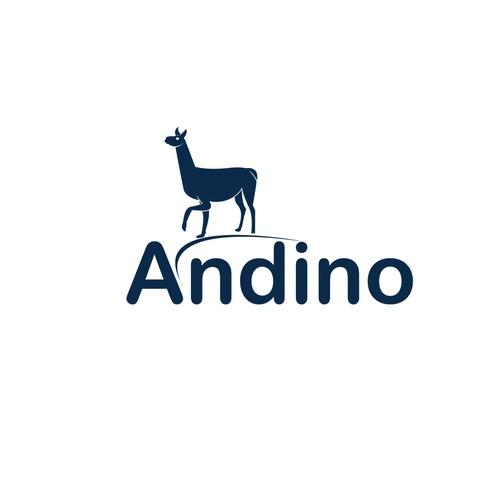 flat logo conxept for Andino