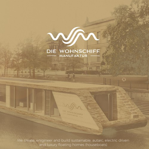 Luxury Logo Concept for Sustainable Floating Homes