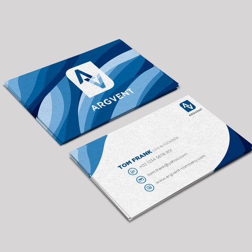 Argvent Company Branding