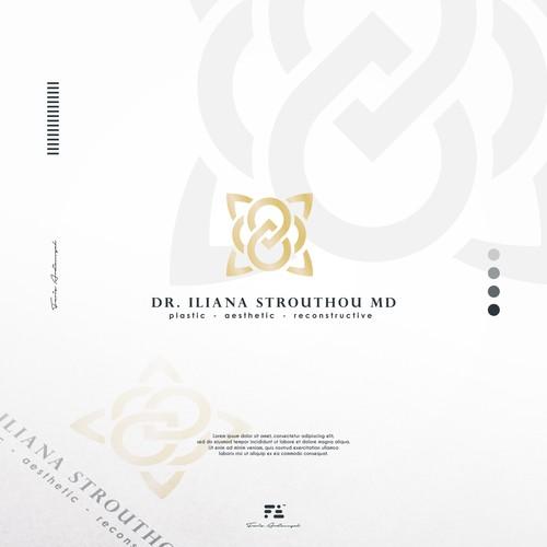 Dr. Iliana Strouthou MD Logo Concept