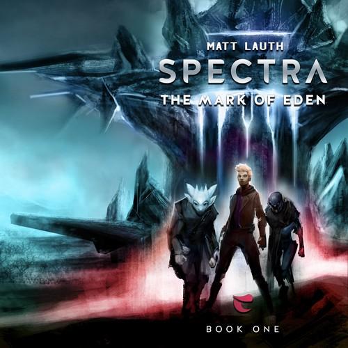 Sci-fi Novel Cover Design Entry