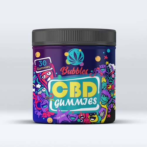 Label for an awesome CBD company!