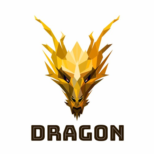 Dragon logo for a luxury event for car enthusiasts.