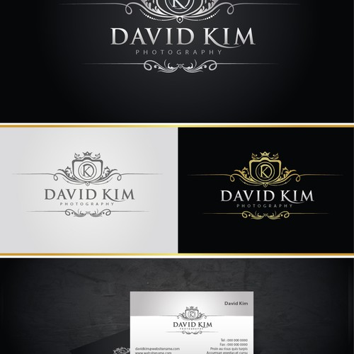 New logo wanted for David Kim Photography