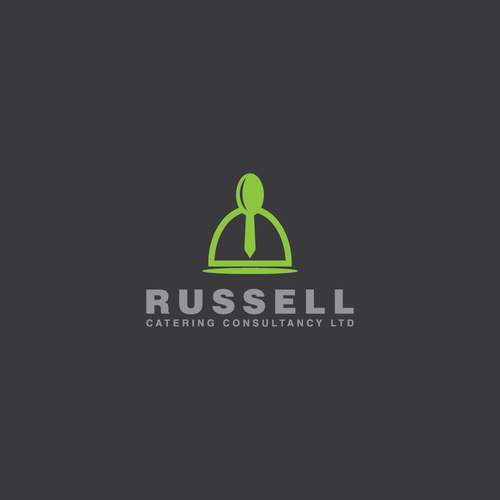 Clever logo concept for RUSSEL